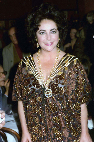 Liz Taylor 1981<br /> Photo By John Barrett-PHOTOlink.net / MediaPunch