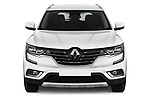 Car photography straight front view of a 2018 Renault Koleos Intens 4wd 5 Door SUV