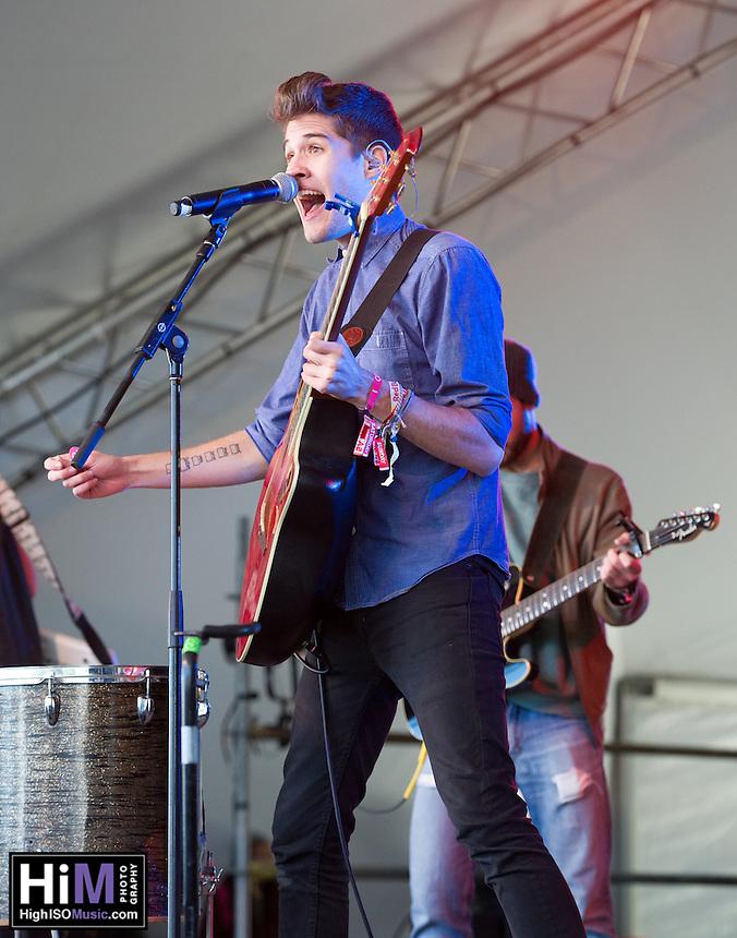 Royal Teeth performing at Voodoo Fest 2012 in New Orleans, LA.