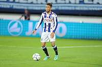 VOETBAL: HEERENVEEN: Abe Lenstra Stadion 29-08-2015, SC Heerenveen - PEC Zwolle, uitslag 1-1, Caner Cavlan (#22), ©foto Martin de Jong