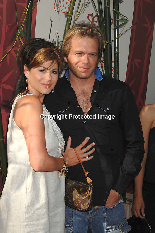 "Julie Pinson and Brian Gaskill, both were on Port Charles..arriving at The SOAPnet's ""Night Before Party"" for the ..nominees of the 2007 Daytime Emmy Awards on            June 14, 2007 at Boulevard3 in Hollywood, California...Robin Platzer, Twin Images........212-935-0770"
