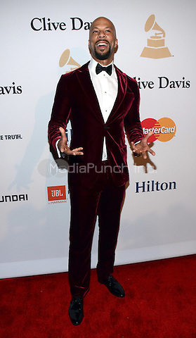 BEVERLY HILLS, CA -  FEBRUARY 7: Common arrives at the 2015 Pre-Grammy Gala & Grammy Salute to Industry Icons at the Beverly Hilton Hotel on February 7, 2015 in Beverly Hills, California. Credit: PGTW/MediaPunch