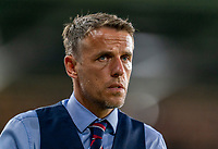 ORLANDO, FL - MARCH 05: Phil Neville of England wakes off the field during a game between England and USWNT at Exploria Stadium on March 05, 2020 in Orlando, Florida.