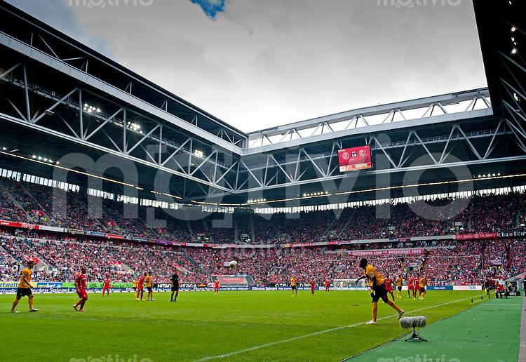 Fussball, 2. Bundesliga, Saison 2013/14, 7. Spieltag, Fortuna Duesseldorf - SG Dynamo Dresden, Sonntag (15.09.13), Duesseldorf, Esprit Arena. Uebersicht