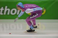 SCHAATSEN: HEERENVEEN: 16-01-2016 IJsstadion Thialf, Trainingswedstrijd Topsport, Ronald Mulder, ©foto Martin de Jong