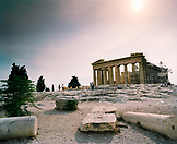 GREECE, Athens, the Parthenon at the Acropolis