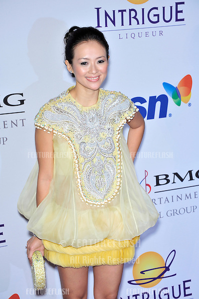 Ziyi Zhang at music mogul Clive Davis' annual pre-Grammy party at the Beverly Hilton Hotel..February 9, 2008  Los Angeles, CA.Picture: Paul Smith / Featureflash