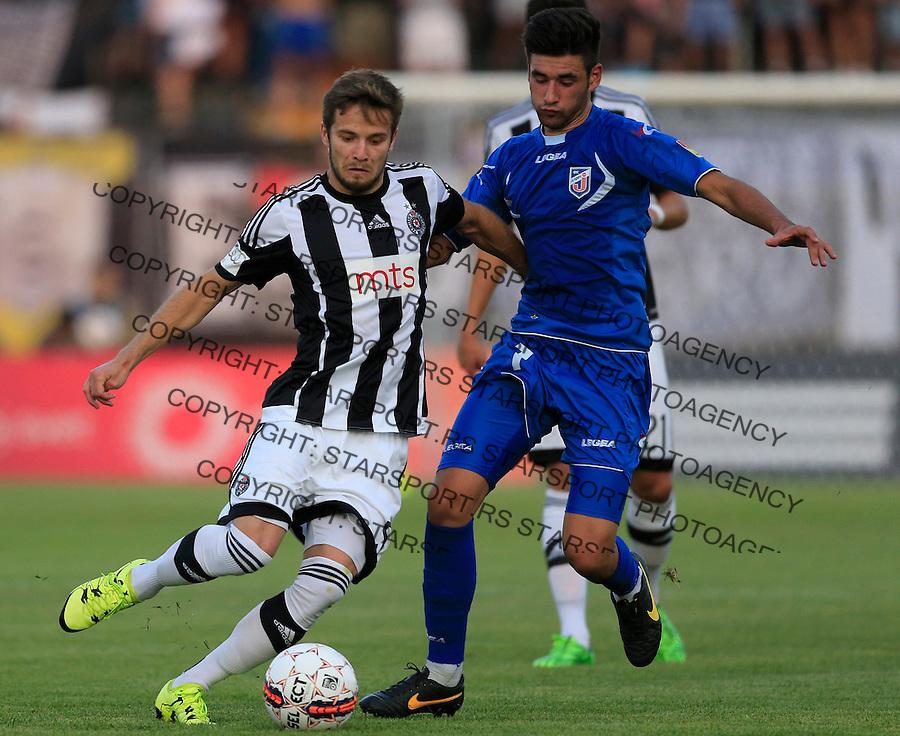 Fudbal Super League season 2015-2016<br /> Partizan v Jagodina<br /> Nemanja Petrovic (L)<br /> Beograd, 20.07.2015.<br /> foto: Srdjan Stevanovic/Starsportphoto&copy;