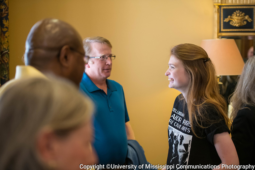 Ole Miss junior Jaz Brisack is awarded a Truman Scholarship.  Photo by Kevin Bain/University Communications Photography
