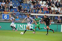 VOETBAL: HEERENVEEN: Abe Lenstra stadion 09-08-2014, SC Heerenveen - FC Dordrecht uitslag 1-2, ©foto Martin de Jong