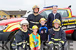 Blazing Smiles<br /> --------------------<br /> Castleisland fire dept gave an awareness day last Saturday at the Supervalu carpark in the town as part of National Fire Safety Week, pictured are L-R Billy O'Connor, Castleisland Fire Station Master, Liam&amp;Zara O'Connor, Denny Greaney, Fireman,William O'Connor and Tony Nolan, Fireman.