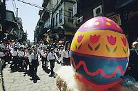 SYRIEN Damaskus Christen verschiedener Konfessionen feiern das Osterfest / SYRIA Damascus christians celebrate easter