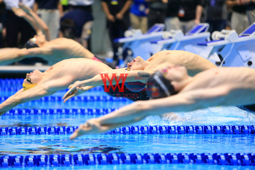 The University of Southern California men's swimming and diving team compete at the 2017 NCAA National Swimming and Diving Championships in Indianapolis, IN. March 24, 2017<br /> (Photo by Walt Middleton Photography 2017)