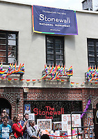 NEW YORK, NY - JUNE 27:  Stonewall Inn National Monument designation ceremony the first LGBTQ institution to receive national monument status in New York, New York on June 27, 2016.  Photo Credit: Rainmaker Photo/MediaPunch