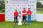 Group 25 poses for a portrait during the 9th Faldo Series Asia Grand Final 2014 golf tournament on March 18, 2015 at Mission Hills Golf Club in Shenzhen, China. Photo by Xaume Olleros / Power Sport Images