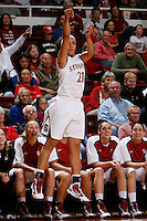 STANFORD, CA - NOVEMBER 29:  Rosalyn Gold-Onwude of the Stanford Cardinal during Stanford's 105-74 win over the Gonzaga Bulldogs on November 29, 2009 at Maples Pavilion in Stanford, California.