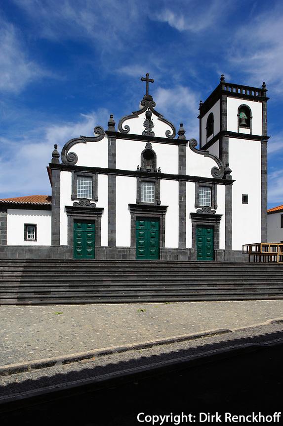 Kirche von Pilar da Bretanha auf der Insel Sao Miguel, Azoren, Portugal