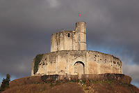 First fortification called jacketwall, Gisors fortified castle, 11th century, by the second son of William the Conqueror, Gisors, Eure, France. Gisors was the main military stronghold between the two vexins, the French and the Norman ones. Listed as historical monument in 1862. Picture by Manuel Cohen