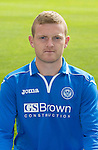 St Johnstone FC 2013-14<br /> Brian Easton<br /> Picture by Graeme Hart.<br /> Copyright Perthshire Picture Agency<br /> Tel: 01738 623350  Mobile: 07990 594431