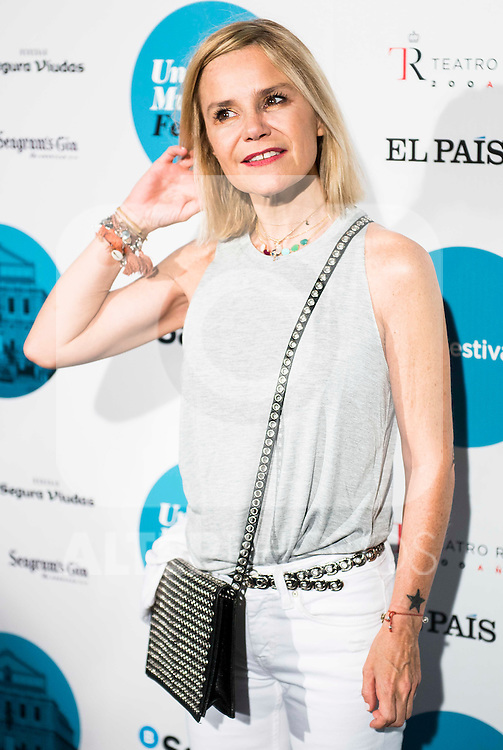 Eugenia Martinez de Irujo attends to the photocall of the concert of Rufus Wainwright at Teatro Real in Madrid. Spain. July 16. 2016. (ALTERPHOTOS/Borja B.Hojas)