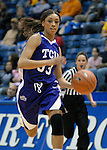 02 February 2008:  TCU guard, Adrianne Ross (33), during the Horned Frogs 67-49 victory over the Air Force Falcons at Clune Arena, Air Force Academy, Colorado Springs, Colorado.