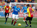 Martyn Waghorn takes on Steven Lawless