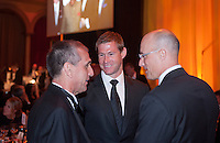 Kasey Keller, Brian McBride. US Soccer held their Centennial Gala at the National Building Museum in Washington DC.