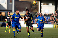 Ellis Harrison of Bristol Rovers during the Sky Bet League 1 match between AFC Wimbledon and Bristol Rovers at the Cherry Red Records Stadium, Kingston, England on 17 February 2018. Photo by Carlton Myrie.