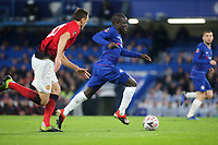 N'Golo Kante of Chelsea races upfield during Chelsea vs Manchester United, Emirates FA Cup Football at Stamford Bridge on 18th February 2019
