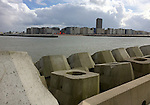 Ostend-Belgium, March 27, 2016 -- Waterfront of Ostend / Ostende  -- Photo: © HorstWagner.eu