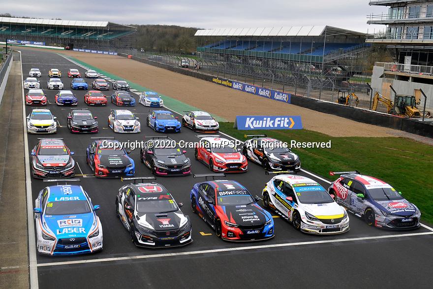 Media Test Day. 2020 British Touring Car Championship.