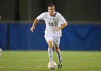 Florida International University men's soccer player Chris Lamarre (12) plays against Nova University on August 26, 2011 at Miami, Florida. FIU won the game 2-0. .