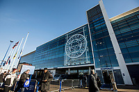 General view of the King Power Stadium during the Premier League match between Leicester City and Manchester United at King Power Stadium on February 3rd 2019 in Leicester, England. (Photo by Leila Coker/phcimages.com)<br /> Foto PHC Images / Insidefoto <br /> ITALY ONLY