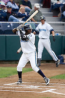 June 22, 2008: The Everett AquaSox's George Soto at-bat during a Northwest League game against the Boise Hawks at Everett Memorial Stadium in Everett, Washington.