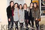 Rebecca Moroney, Caoimhe O'Keeffe, Rachel Navin, Caoimhe Ross, Rebecca Reebs and Rebecca Jordan enjoying the New Year celebrations in Dingle.
