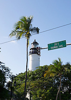 Near Truman Avenue sits the Key West Lighthouse, a favorite tourist spot offering majestic views of the island.
