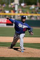 Yimi Garcia - Los Angeles Dodgers 2016 spring training (Bill Mitchell)