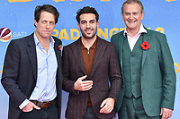 www.acepixs.com<br /> <br /> November 12 2017, Berlin<br /> <br /> (L-R) Hugh Grant, Elyas M' Barek and Hugh Bonneville arriving at the 'Paddington 2' premiere at Zoo Palast on November 12, 2017 in Berlin, Germany. <br /> <br /> By Line: Famous/ACE Pictures<br /> <br /> <br /> ACE Pictures Inc<br /> Tel: 6467670430<br /> Email: info@acepixs.com<br /> www.acepixs.com