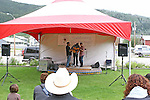 Dawson City Music Fest, 2010, THE YUKON TERRITORY, CANADA,