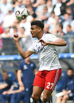 19.05.2019,  GER; 2. FBL, Hamburger SV vs MSV Duisburg ,DFL REGULATIONS PROHIBIT ANY USE OF PHOTOGRAPHS AS IMAGE SEQUENCES AND/OR QUASI-VIDEO, im Bild Einzelaktion Hochformat Josha Vagnoman (Hamburg #27) Foto © nordphoto / Witke
