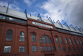 9th September 2017, Ibrox Park, Glasgow, Scotland; Scottish Premier League football, Rangers versus Dundee; General view of Ibrox, home of Rangers