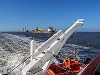Seebäderschiff Helgoland., Fähre von Cuxhaven nach Helgoland, Niedersachsen, Deutschland, Europa<br /> Tourist steamer Helgoland - ferry Cuxhaven - Helgoland, Cuxhaven, Lower Saxony, Germany, Europe