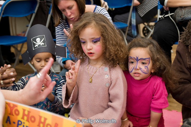 Pirate Party at St Paul's Church Centre for National Bookstart Day.