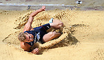 Kevin MAYER (FRA) in the mens decathlon long jump. IAAF world athletics championships. London Olympic stadium. Queen Elizabeth Olympic park. Stratford. London. UK. 11/08/2017. ~ MANDATORY CREDIT Garry Bowden/SIPPA - NO UNAUTHORISED USE - +44 7837 394578