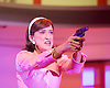 Pedro Almodovar's<br /> Women on the Verge of a nervous breakdown The Musical <br /> at the Playhouse Theatre, London, Great Britain <br /> press photocall<br /> 23rd December 2014 <br /> <br /> <br /> Haydn Gwynne as Lucia <br /> <br /> <br /> <br /> Photograph by Elliott Franks <br /> Image licensed to Elliott Franks Photography Services