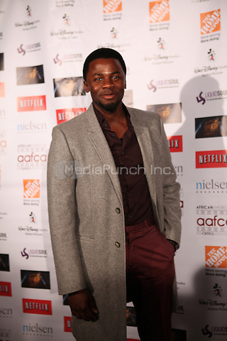 LOS ANGELES, CALIFORNIA - JANUARY 31: Derek Luke at the African American Film Critics Association 5th Annual Awards Dinner on Friday Jan 31st, 2014  at the Taglyan Cultural Complex in Los Angeles, California. Photo Credit: RTNjohnson/MediaPunch.