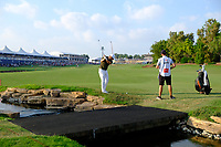 Jordan Smith (ENG) on the 18th fairway during the final round of the DP World Tour Championship, Jumeirah Golf Estates, Dubai, United Arab Emirates. 18/11/2018<br /> Picture: Golffile | Fran Caffrey<br /> <br /> <br /> All photo usage must carry mandatory copyright credit (© Golffile | Fran Caffrey)