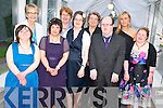 Enjoying The Mayors Ball held in the Malton Hotel, Killarney on Friday night were Martina Healy, Sheila McCarthy, Breda Healy, Breda O'Sullivan, Martina McCarthy, Joan O'Sullivan, Timothy O'Sullivan, Mary Doyle and Maura Murphy...................
