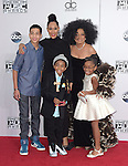 Miles Brown,Tracee Ellis Ross,Diana Ross,Marsai Martin,Marcus Scribner at The 2014 American Music Award held at The Nokia Theatre L.A. Live in Los Angeles, California on November 23,2014                                                                               © 2014 Hollywood Press Agency
