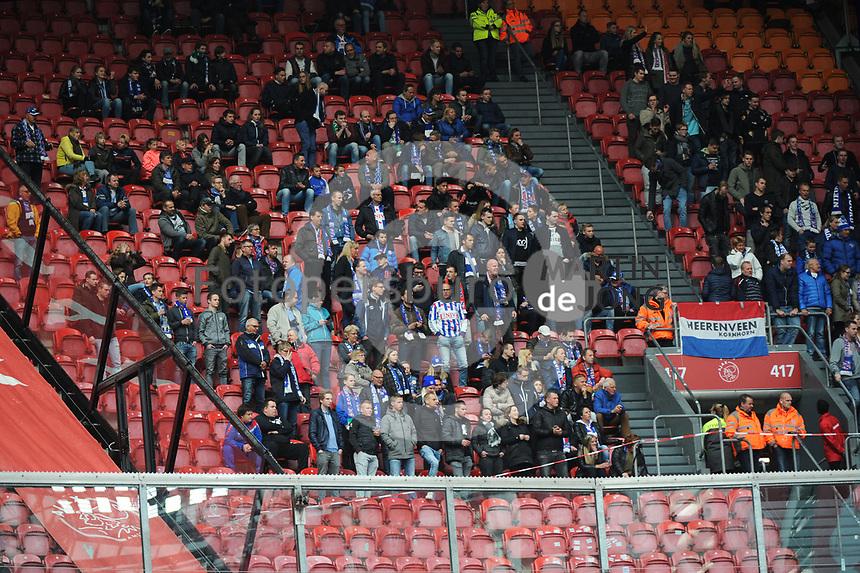 VOETBAL: AMSTERDAM: 16-04-2017, AJAX - SC Heerenveen, uitslag 5 - 1, Heerenveen fans, ©foto Martin de Jong